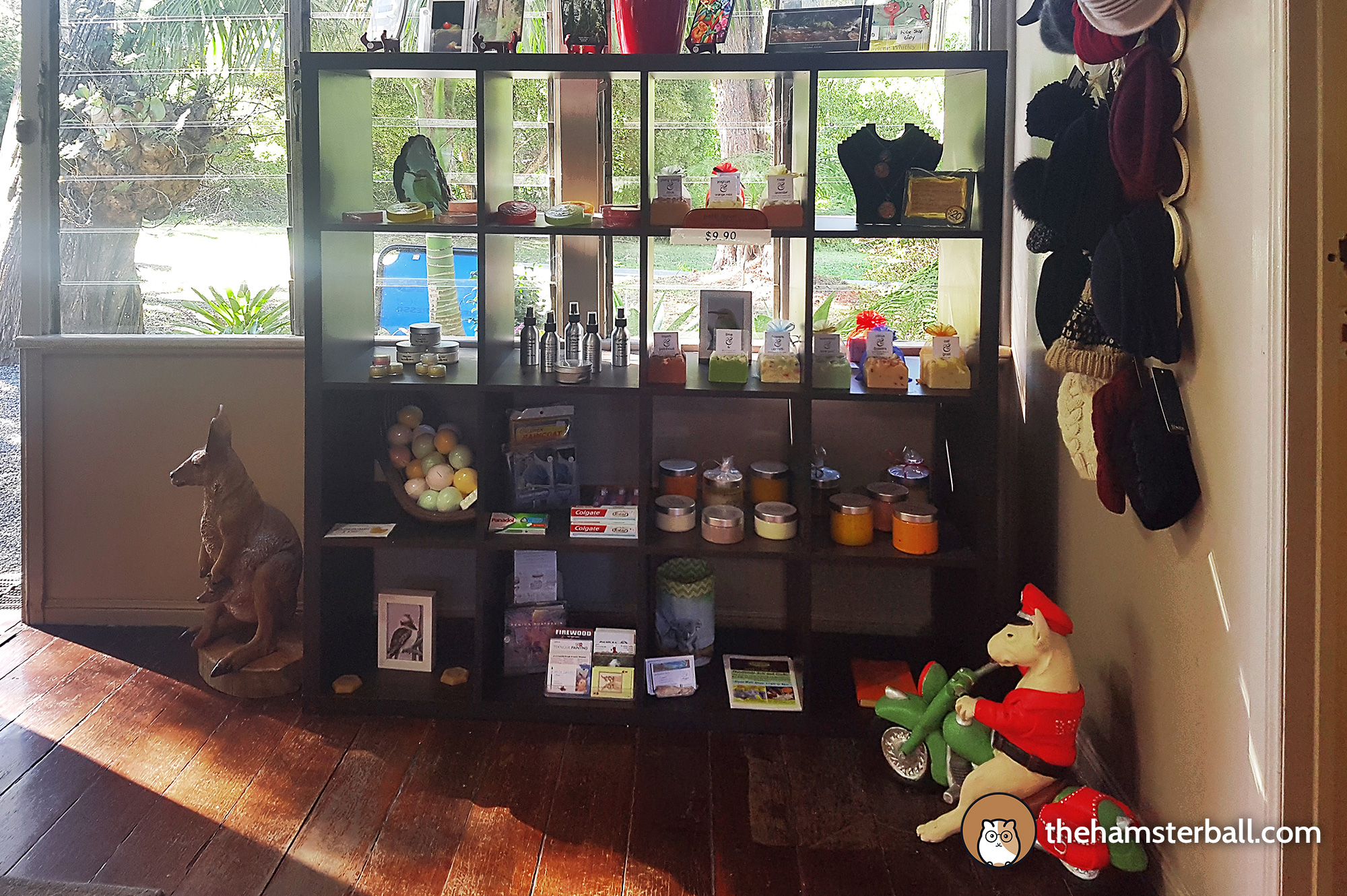 The Fudge Shop, Springbrook, Eco Sensitive, environment, colors, souvenirs