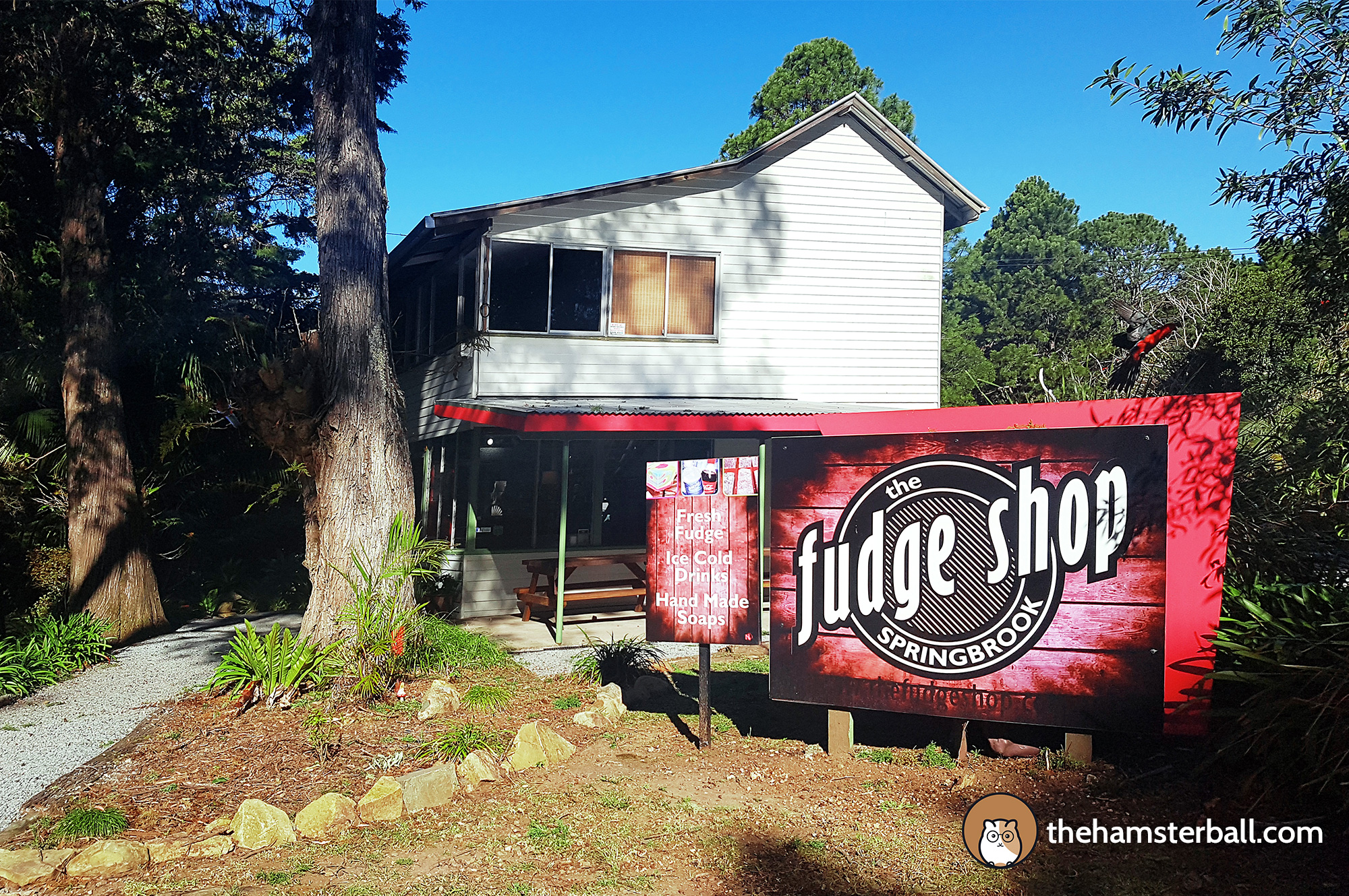 The Fudge Shop, Springbrook, Environment, Eco sensitive