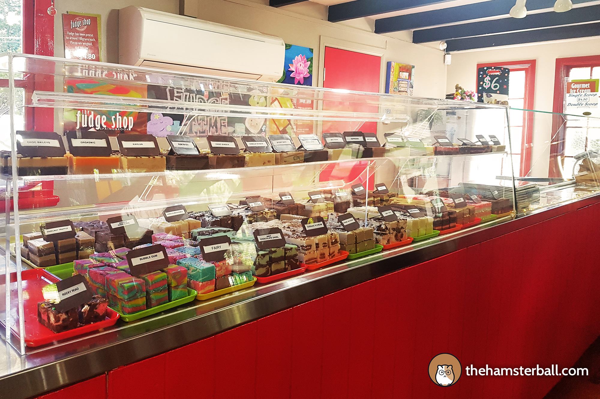 The Fudge Shop, Springbrook, Sweet, sugar, dessert, colorful, flavors